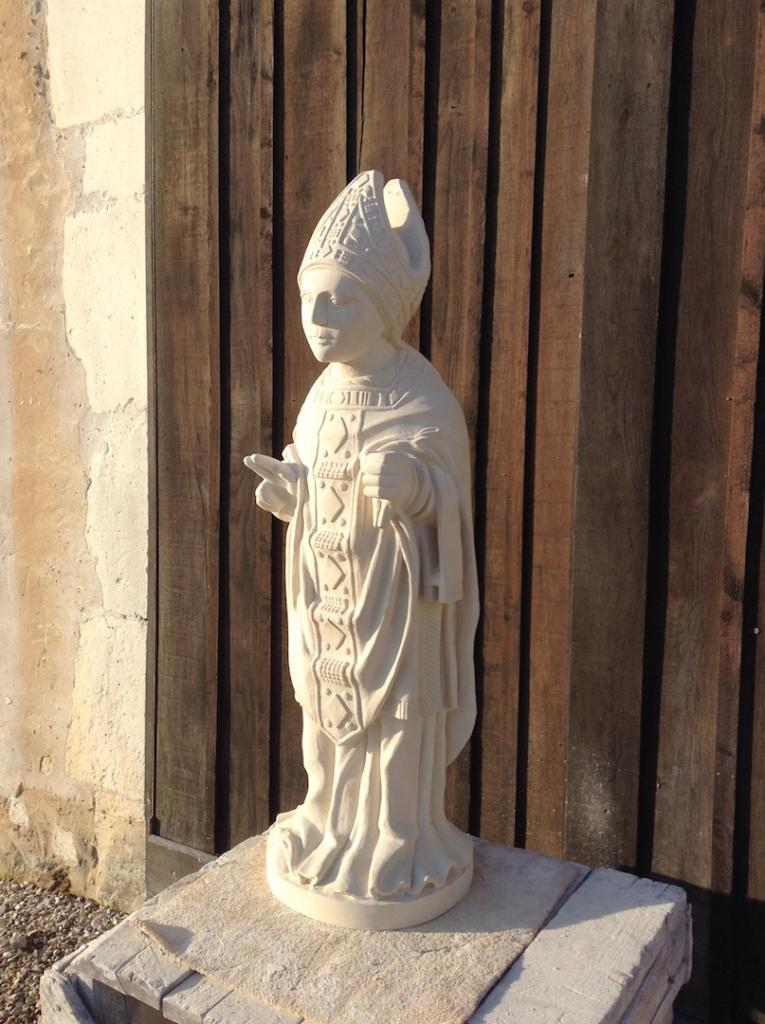 XVth statue of St Victor